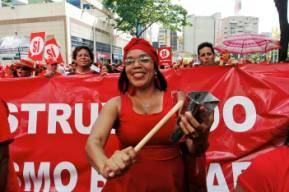 Afro-venezuelan demonstration
