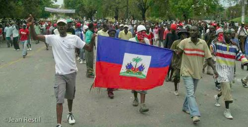Grassrots Haitians March